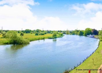 Thumbnail 3 bedroom flat to rent in Bridge Wharf, Chertsey
