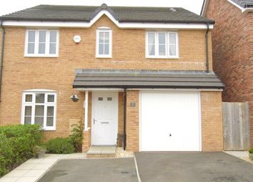 Thumbnail 4 bed detached house for sale in Lon Yr Helyg, Coity, Bridgend