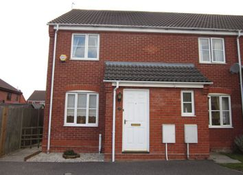 Thumbnail 2 bedroom semi-detached house to rent in Rodber Way, Lowestoft