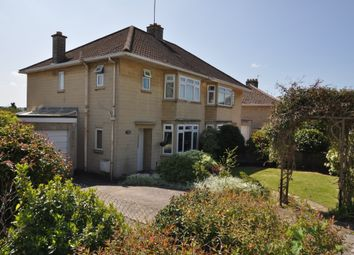 Thumbnail 3 bed semi-detached house to rent in West Lea Road, Bath