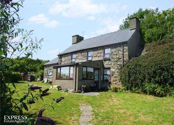 Thumbnail 4 bed detached house for sale in Llanaelhaearn, Caernarfon, Gwynedd