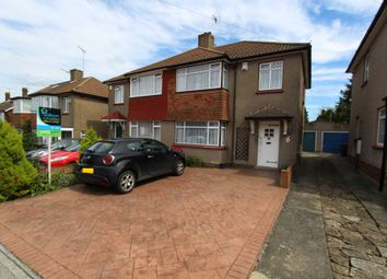 Thumbnail 3 bed semi-detached house to rent in Vicarage Lane, Gravesend