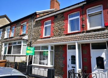 Thumbnail 3 bed terraced house for sale in Cross Street, Abertridwr, Caerphilly