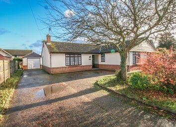 Thumbnail 5 bedroom detached bungalow for sale in Jews Lane, Bradwell, Great Yarmouth