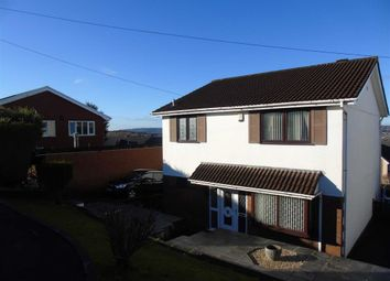 Thumbnail 4 bed detached house for sale in Rhyd Y Coed, Birchgrove, Swansea