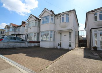 Thumbnail 3 bed semi-detached house for sale in Hadleigh Road, London