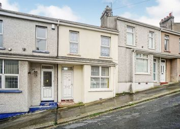 Thumbnail 1 bed terraced house for sale in Eliot Street, Weston Mill, Plymouth