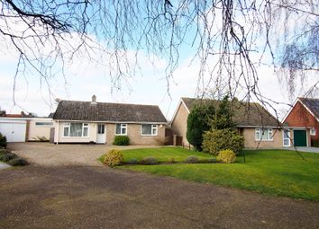 Thumbnail 3 bed detached bungalow for sale in Knyvett Green, Ashwellthorpe, Norwich