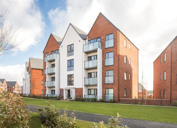 "Thumbnail 2 bedroom flat for sale in ""Lowesbury"" at Carters Lane, Kiln Farm, Milton Keynes"