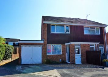 Thumbnail 2 bed semi-detached house for sale in Chilcomb Close, Lee-On-The-Solent