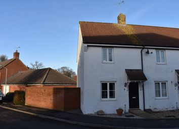 Thumbnail 2 bed end terrace house for sale in Field Close, Sturminster Newton