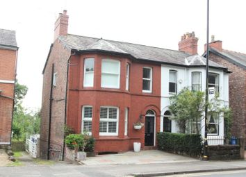 Thumbnail 4 bed semi-detached house for sale in Langham Road, Bowdon, Altrincham