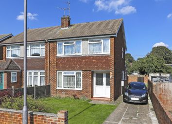 Thumbnail 3 bed semi-detached house for sale in Medway Close, Sittingbourne