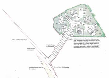 Thumbnail Property for sale in Building Land Adjoining Brynfedwen, Llanwddyn