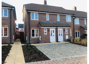 Thumbnail 2 bed end terrace house for sale in St Lawrence Crescent, Coxheath, Maidstone
