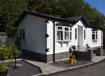 Thumbnail 2 bed mobile/park home for sale in Plot 92 Mill Gardens, Blackpill, Swansea