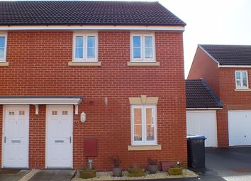 Thumbnail 3 bed semi-detached house for sale in Ferris Way, Paxcroft Mead, Trowbridge
