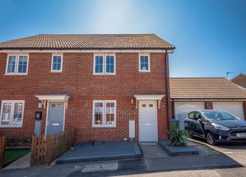 Thumbnail 3 bed semi-detached house for sale in Sarnia Close, Peacehaven, East Sussex