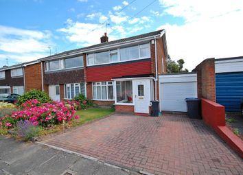 Thumbnail 3 bed semi-detached house to rent in Chichester Road, Newton Hall, Durham