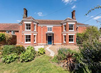 Thumbnail 3 bedroom semi-detached house for sale in Hunts Corner, Banham, Norwich