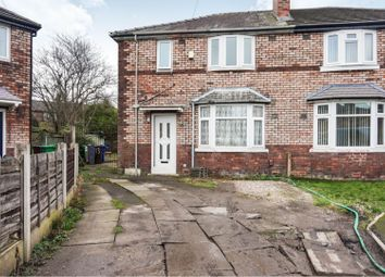 Thumbnail 3 bed semi-detached house for sale in Foxwood Gardens, Manchester