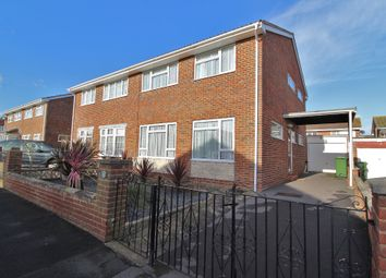 Thumbnail 4 bed semi-detached house for sale in Sanderling Road, Southsea