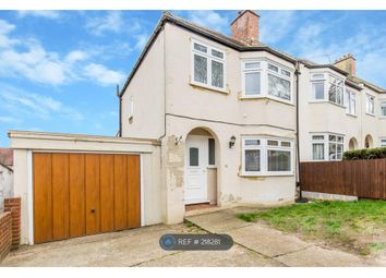 Thumbnail 3 bed end terrace house to rent in Sherwood Road, Coulsdon