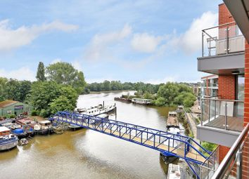 Thumbnail 2 bed flat for sale in Lighterage Court, High Street, Brentford
