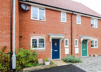 Thumbnail 3 bed terraced house for sale in Gilbert Road, Stanton, Suffolk