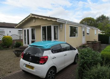 Thumbnail 2 bed mobile/park home for sale in Agden Brow Park (Ref 5712), Agden, Lymm, Cheshire
