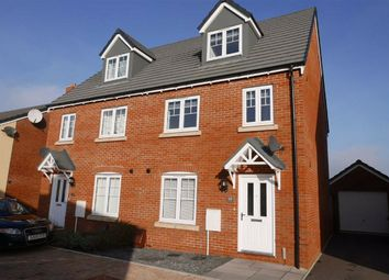 Thumbnail 3 bed semi-detached house for sale in Brunel Road, Cam