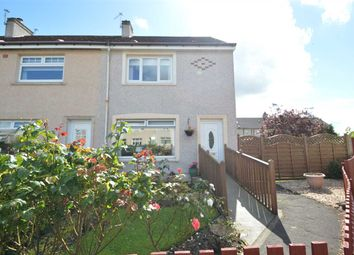 Thumbnail 2 bed end terrace house for sale in Crofthead Place, Bellshill