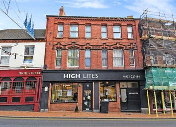 Thumbnail 2 bed flat to rent in High Street, Wellingborough