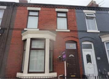 Thumbnail 3 bed terraced house for sale in Finchley Road, Liverpool