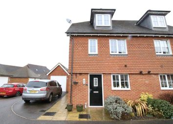 Thumbnail 4 bed property to rent in Rainbow Close, Horley, Surrey