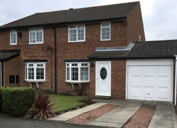 Thumbnail 3 bedroom semi-detached house for sale in Cheviot Grange, Burradon, Cramlington