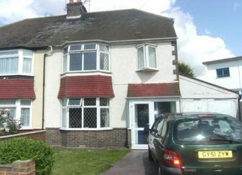 Thumbnail 3 bed property to rent in Gardner Road, Portslade, Brighton