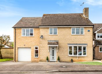 Thumbnail 5 bed detached house for sale in Saxel Close, Aston, Bampton