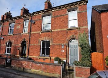 Thumbnail 3 bed end terrace house for sale in West Bond Street, Macclesfield