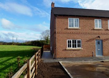 Thumbnail 3 bed semi-detached house to rent in The Court, Long Whatton, Loughborough