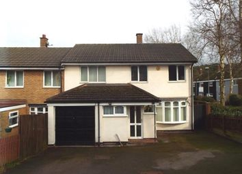 Thumbnail 3 bed semi-detached house for sale in Lowland Road, Cannock, Staffordshire