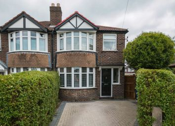 Thumbnail 3 bed semi-detached house for sale in Farndon Drive, Timperley, Altrincham