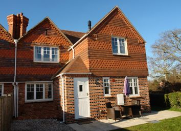 Thumbnail 3 bed semi-detached house to rent in Victoria Cottage, East End, Newbury, Berkshire
