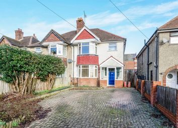 Thumbnail 3 bed semi-detached house for sale in Welbeck Avenue, Highfield, Southampton