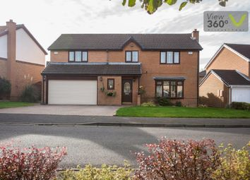 Thumbnail 4 bed detached house for sale in Bellerby Drive, Ouston, Chester Le Street