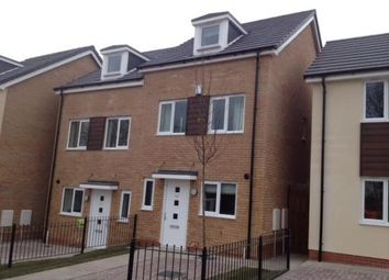 Thumbnail 3 bed town house to rent in Bradfield Way, Dudley