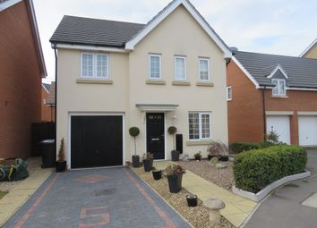 Thumbnail 4 bed detached house for sale in Burrows Close, Grantham