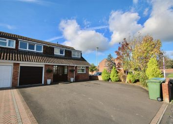 Thumbnail 4 bed semi-detached house for sale in Quintrel Avenue, Fareham
