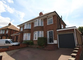 Thumbnail 3 bed semi-detached house for sale in Larchcroft Road, Ipswich