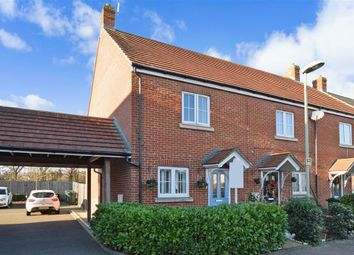 Thumbnail 2 bed end terrace house for sale in Broadview Close, Ashford, Kent